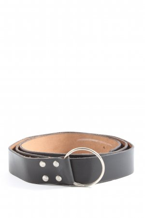 Faux Leather Belt black casual look