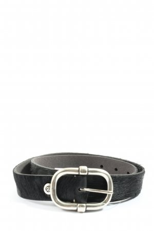 B Belt Faux Leather Belt black casual look