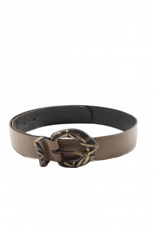 Faux Leather Belt brown casual look