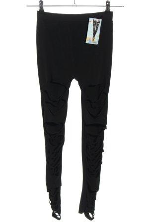 Yayun Legging zwart casual uitstraling