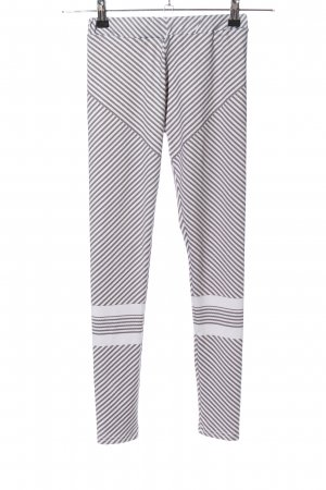 HEYounGIRL Leggings blanco-gris claro look casual