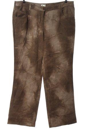 Linen Pants brown casual look