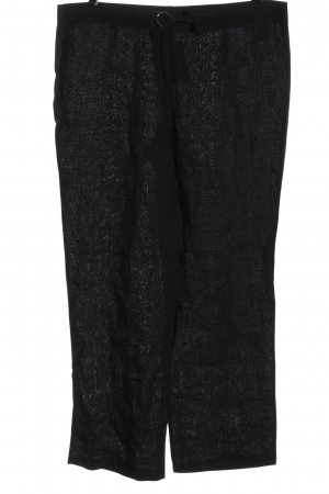 Linen Pants black casual look