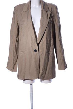 Long-Blazer braun Casual-Look