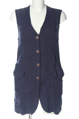 Długa bluzka niebieski Siateczkowy wzór W stylu casual