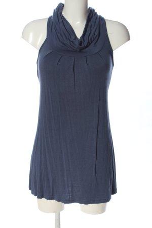 Muse Camicetta lunga blu stile casual