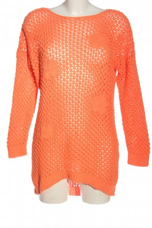 Egg Family Jersey largo naranja claro look casual