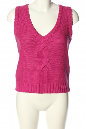 Pop viation Lange cardigan roze casual uitstraling