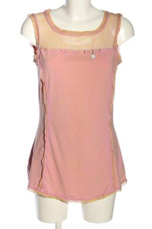 Bottega Longshirt pink Casual-Look