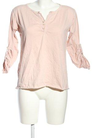 Velvet & Rose Longsleeve pink Casual-Look