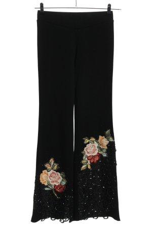 Marlene Trousers flower pattern casual look