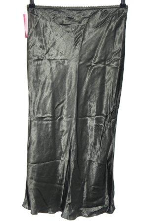Falda larga caqui estilo extravagante