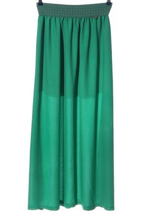 bellina Maxi rok groen casual uitstraling