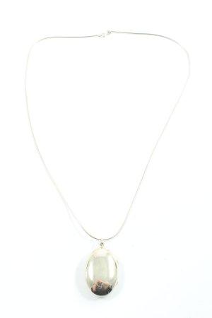 Medaglione argento elegante