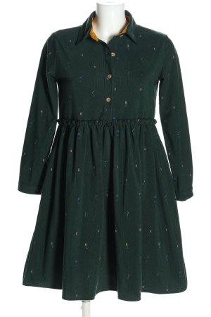 ZHAOXI Robe empire imprimé allover style décontracté
