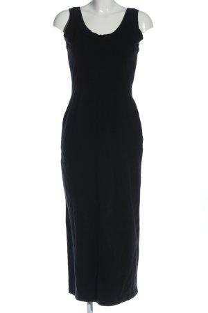 Moda Int'l Stretch jurk zwart casual uitstraling