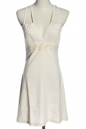 Minikleid wollweiß Elegant
