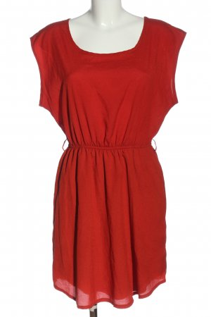 mixxed Minikleid rot Casual-Look