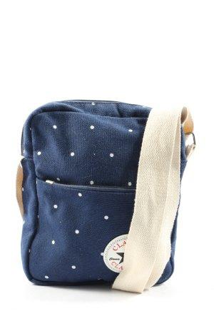 Classic Mini sac bleu-blanc motif de tache style décontracté