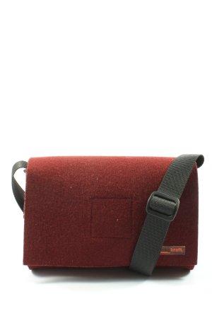 Mini sac rouge élégant