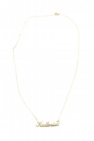 soufeel Name Necklace gold-colored casual look