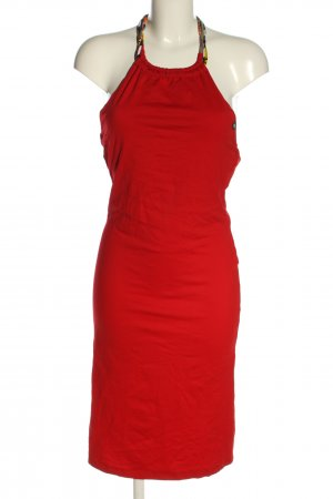 Halter Dress red casual look
