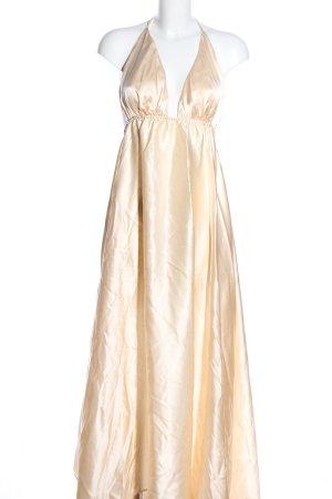 Neckholderkleid creme Elegant