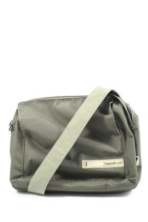 LOGSTOFF Notebooktasche khaki Motivdruck Casual-Look
