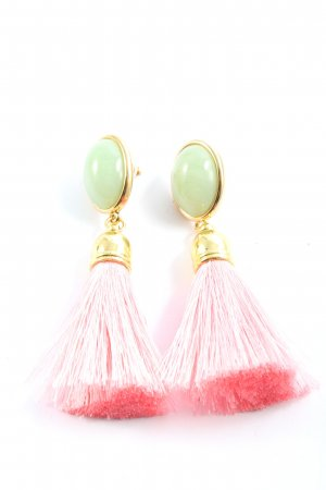 schwester schwester Dangle pink-turquoise elegant