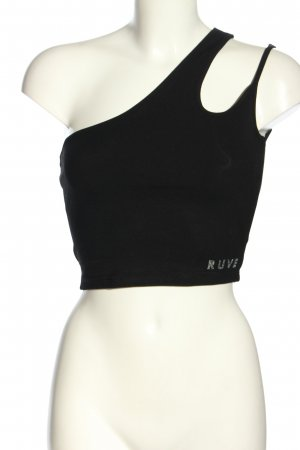 RUVE One Shoulder Top black casual look