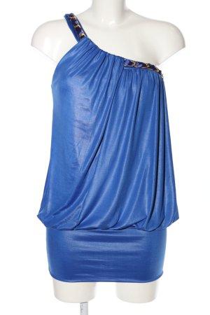 LUC&CE Top monospalla blu elegante