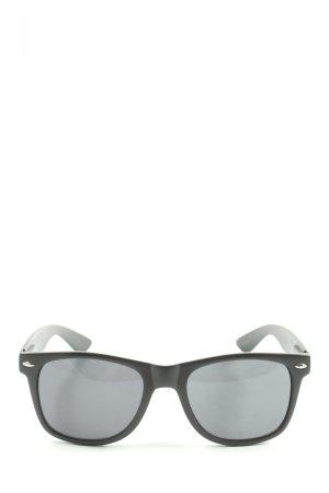 J & J Clothing Store Gafas de sol cuadradas negro look casual