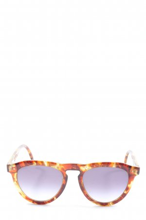 Oval Sunglasses light orange-brown casual look