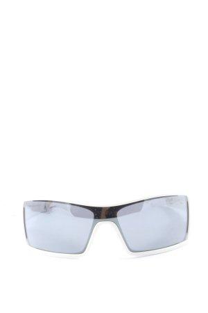 oil_rig eckige Sonnenbrille schwarz-silberfarben Casual-Look