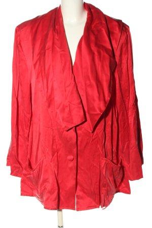 Płaszcz oversize różowy Elegancki