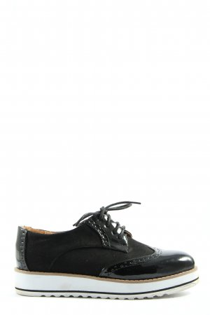 victor shoes Oxfords black casual look