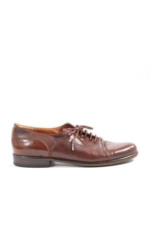 Livia Danieli Zapatos estilo Oxford marrón estilo «business»