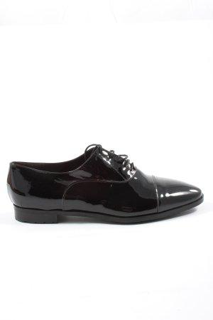 Oxfords zwart zakelijke stijl