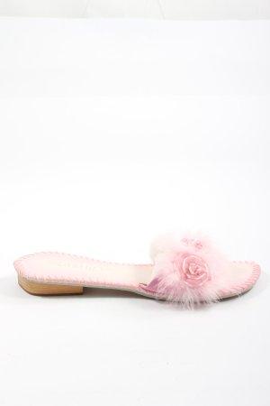 Laribly Ciabatta aperta rosa stile casual