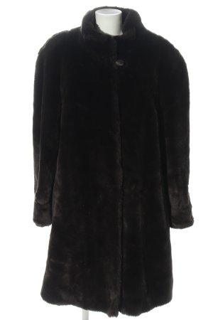 Pelt Coat black casual look
