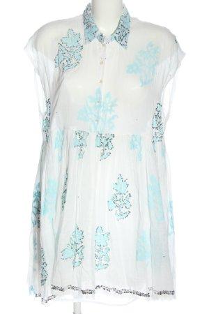 juliet dunn Sukienka z halką Graficzny wzór W stylu casual