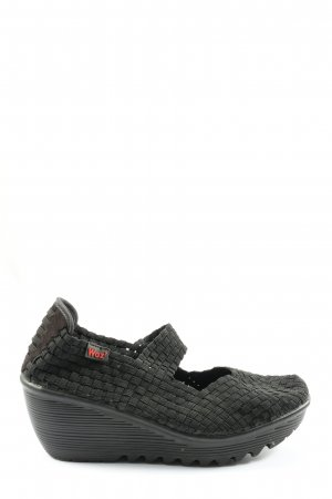 Scarpa Mary Jane nero stile casual