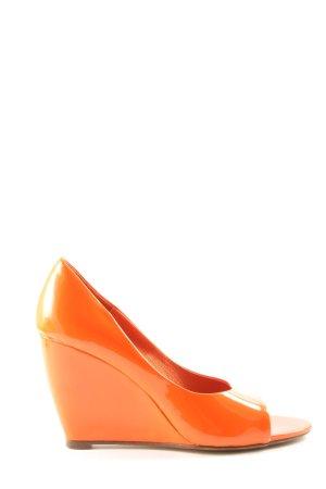 La Redoute Sandalo con plateau arancione chiaro elegante