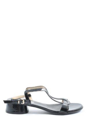Aramis Calzature Platform High-Heeled Sandal black casual look