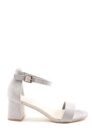 Viva! Platform High-Heeled Sandal light grey casual look