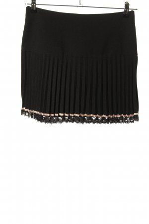 Pleated Skirt black elegant