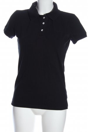 Polo Shirt black casual look
