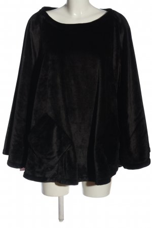 OEKO-TEX Poncho black casual look