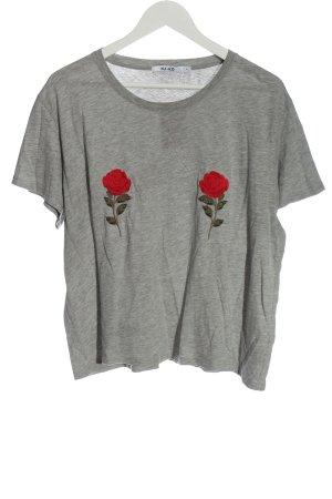 NA-KD Print-Shirt