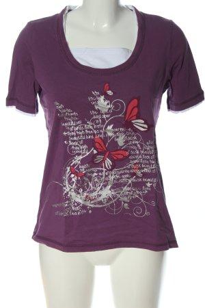 Paola! Camiseta estampada estampado temático look casual